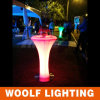 LED Plastic Cocktail Tables 높은 쪽으로 상업적인 Used Party Light