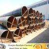 Tubo rivestito di lubrificazione di SSAW/tubo d'acciaio saldato spirale di /Spiral del tubo d'acciaio