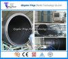 linha de produção da tubulação do perfil do enrolamento da parede da cavidade do HDPE de 3000mm/fatura da fábrica da maquinaria