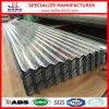 Lamiera di acciaio ondulata galvanizzata tetto della galvanostegia di Dx51d SGCC