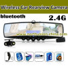 Bl-5608 Car Camera Rear View Mirror Camera, 2.4G, Bluetooth, Hands Free Headset, 3.5inch affichage à cristaux liquides, carte SD