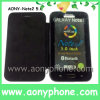 Nice Apperance 5.0inch telefone móvel com estojo