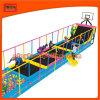 Crianças Comercial Indoor Trampoline Arena com basquetebol