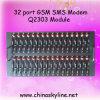 명령 USB 무선 Muti 운반 Wavecom 대량 GSM SMS 전산 통신기 수영장 32 항구에 GSM