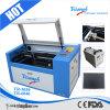 Da máquina quente do laser da venda de China preço barato portátil da máquina de estaca do laser mini