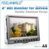 Monitor del LCD del caso de aluminio de Feelworld 5inch pequeño para 5dii