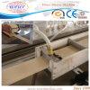 Machines de fabrication de profil de guichet de poudre de PVC-Bois de la CE
