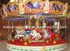 Смешная роскошная езда Kiddie Carousel мест тематического парка 16