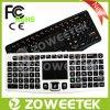 Clavier Hot vente Mini sans fil rétroéclairé avec pavé tactile 2.4G ou Bluetooth