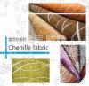 Tela Home tingida do sofá de matéria têxtil do Chenille fio liso