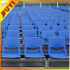 Sistema del asiento retráctil con polietileno de alta densidad asientos de plástico para uso al aire libre