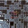 De MetaalKleur van het titanium zoals de Tegel van het Mozaïek van het Kristal van het Glas (TC373)