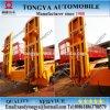 Tongya 3 Radachse hydraulischer Lowbed halb Schlussteil