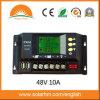 太陽系のための48V 10A LCDの太陽コントローラ