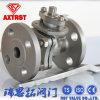 нержавеющая сталь 2PC CF8/CF8m плавая API служила фланцем шариковый клапан