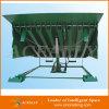 Almacenaje industrial de 15 toneladas que carga a nivelador de muelle hidráulico