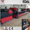 Cortador de laser de fibra para tubo de metal na indústria de processamento de metais