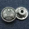 Животные типы извлекают кнопки металла для джинсовой ткани куртки