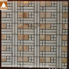 De gekleurde Oppoetsende Marmeren Tegel van het Mozaïek van de Badkamers