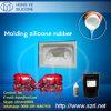 Borracha de silicone líquida durável para a fatura dos moldes da resina
