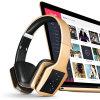 Auricular sin hilos bajo mega plegable de Bluetooth con el micrófono