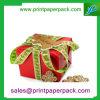 Caja de regalo modificada para requisitos particulares a todo color de la manera de la alta calidad con la cinta