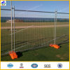 Removeable Aufbau galvanisierter temporärer Zaun