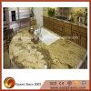 De natuurlijke Gouden Bovenkant van de Lijst van de Keuken van het Graniet/Countertop