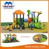 Kind-im Freienspielplatz-Geräten-Plättchen