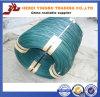 Fil galvanisé de fer enduit par zinc de Bwg 22, fil obligatoire