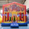 Коммерчески прочная раздувная дом прыжока/скача оживлённый цвет таможни замока