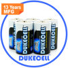 Батарея Lr20 размера Non-Leakage d 0% Hg