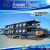 Aanhangwagen van de Vrachtwagen van de tri-as Flatbed Semi met de Sloten van de Container