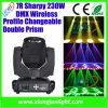 Iluminación ligera al aire libre 230W de Paky 7r Sharpy de la arcilla