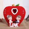 Украшение подарков венчания украшения смолаы скульптуры любовников