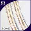 La catena operata del branello dell'acciaio inossidabile imposta la collana dei monili