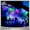 Luz decorativa da corda do diodo emissor de luz do feriado ao ar livre branco morno