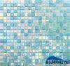 Vierkante Mozaïek van het Glas van de Kleur van de mengeling het Smeltende voor Binnenlands/Buiten Zwembad