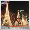 Luz ao ar livre do casamento da decoração da árvore da decoração do Natal do diodo emissor de luz