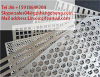 Engranzamento de aço do furo perfurado de /Stainless da placa do engranzamento do furo de perfuração (preço de fábrica, ISO9001: 2000)