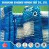 Blaue weiße Ineinander greifensun-Farbton-Netz-verschiedene Größen-geschützter Garten-UVdeckel
