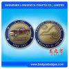 3D 재미있은 로고를 가진 작은 금속 동전