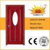 غرفة حمّام [شنس] بيضويّة زجاجيّة أبواب خشبيّة ([سك-و025])