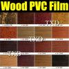 пленка винила PVC зерна 1.24*50m деревянная для применения настила винила