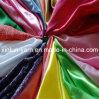 Eco友好的な防水PVC上塗を施してある繭紬のレインコートファブリック
