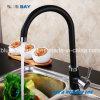 Robinet simple en laiton de taraud de bassin de cuisine de mélangeur de Hot&Cold de traitement de qualité