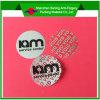 Nietige Sticker van de anti-Stamper van de steen de Zilveren voor het Gebruik van Één Keer