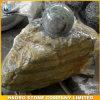Vente en gros Shaped de fontaine d'eau de sphère en pierre