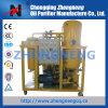 Sistema de reciclaje del aceite de la turbina para el uso de la central eléctrica