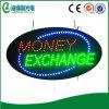 Segno di caduta di scambio di soldi del LED